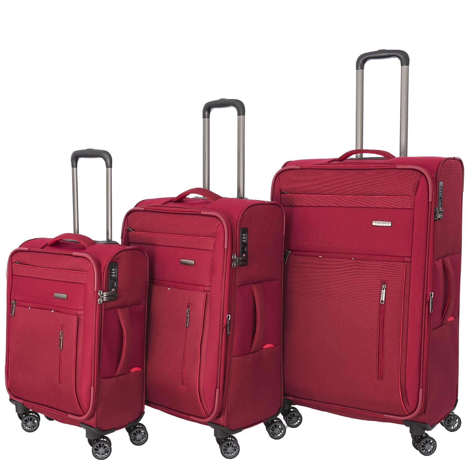 travelite-capri-rot-3-tlg-trolley-set