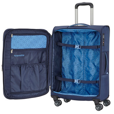 Travelite CAPRI Marine 3  tlg. Trolley Set – Bild 5
