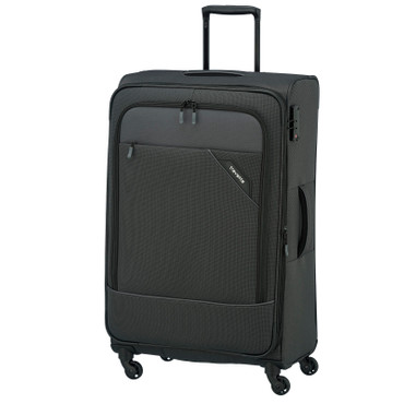 Travelite DERBY Anthrazit 77cm Stoff Trolley – Bild 1