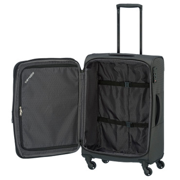 Travelite DERBY Anthrazit 3 tlg. Trolley Set  – Bild 5