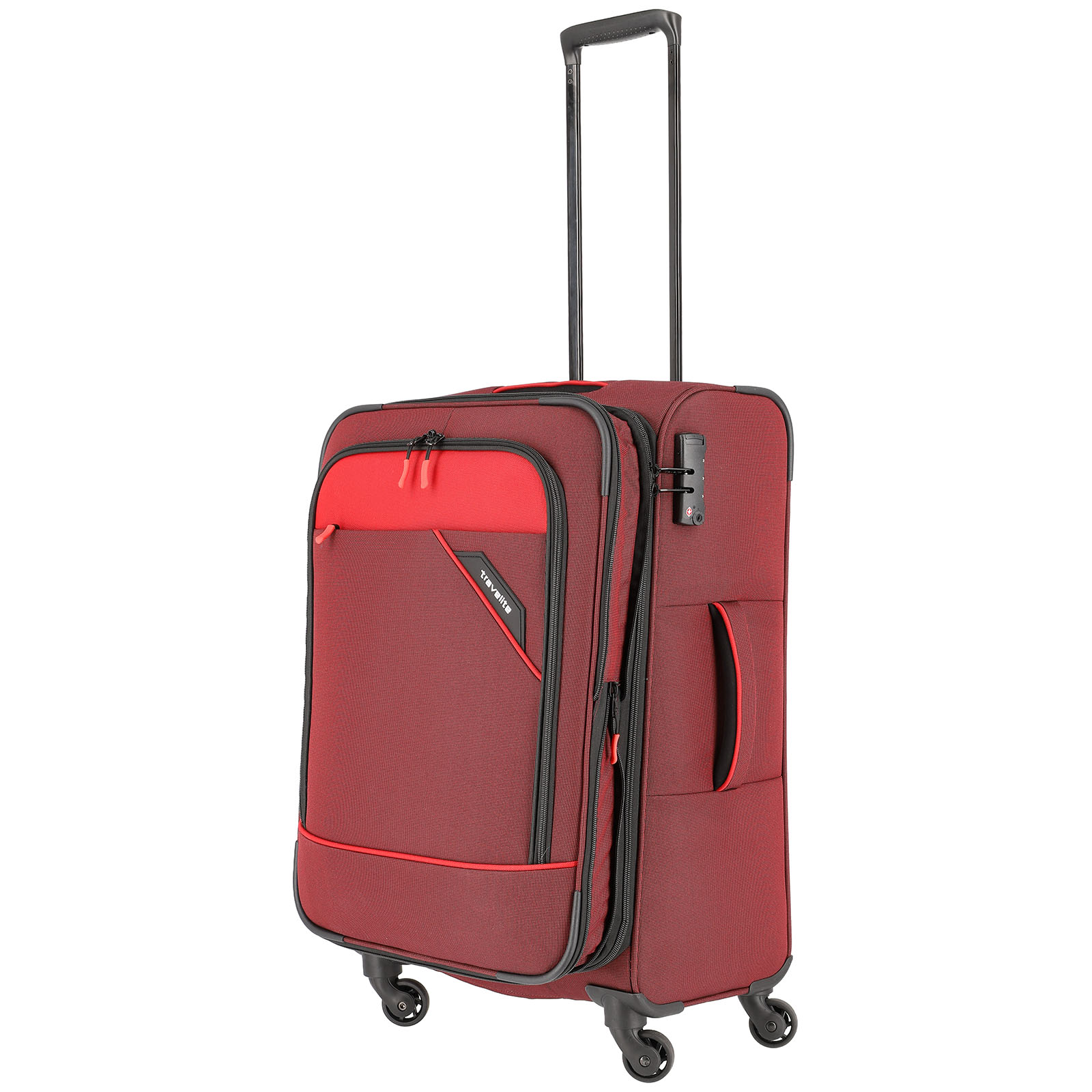 travelite-derby-rot-66cm-stoff-trolley