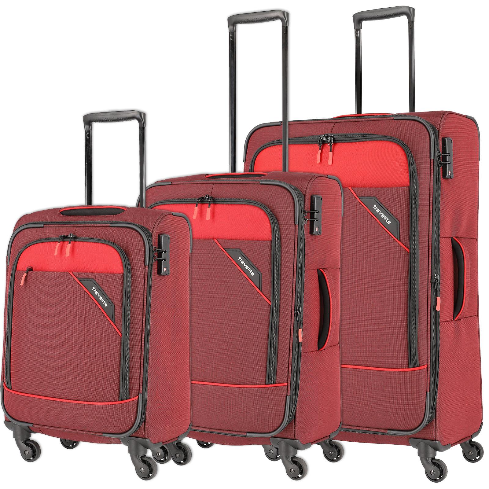 travelite-derby-rot-3-tlg-trolley-set