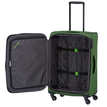 Travelite DERBY Grün 4 tlg. Trolley Set Bordtasche – Bild 4