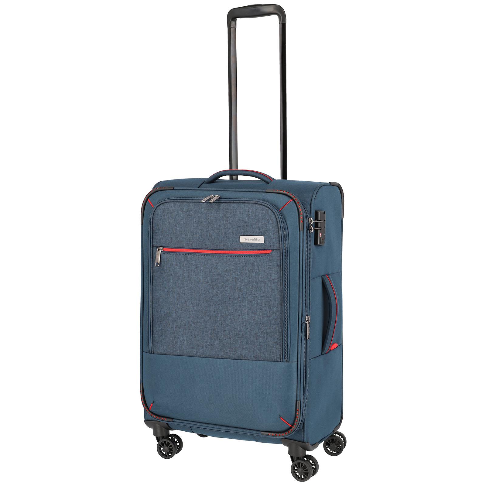 travelite-arona-66cm-trolley-marine
