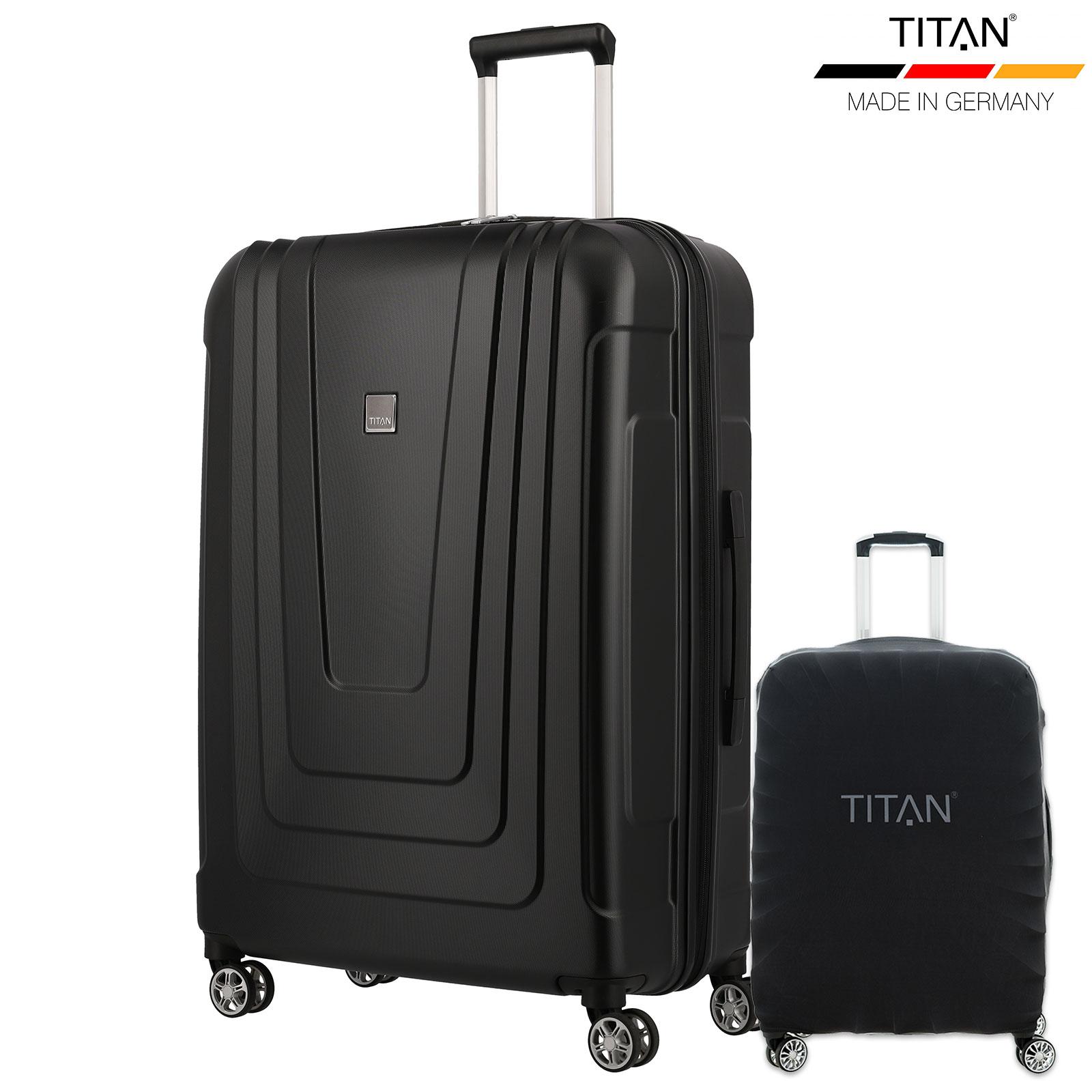 TITAN X-RAY 77cm Trolley Atomic Black inkl. Kofferschutz