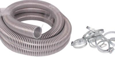 Förderschlauch, PVC-Schlauch, PU-Schlauch, Pelletsschlauch, Maulwurfersatzschlauch
