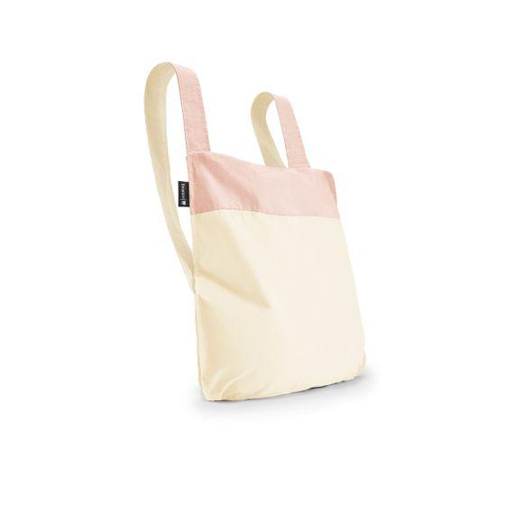 notabag Original 2in1 Tasche und Rucksack - Rose/Raw - Bild 1