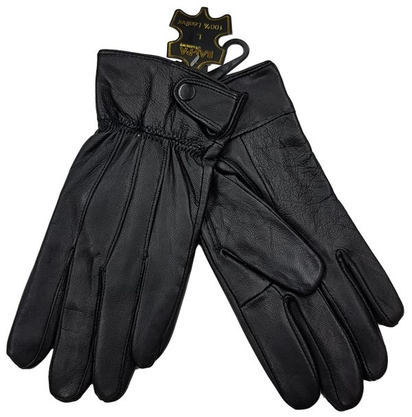 competitive price acc5b 23a23 J180 Lederhandschuhe Damen gefütterte Handschuhe Gr. L schwarz G1