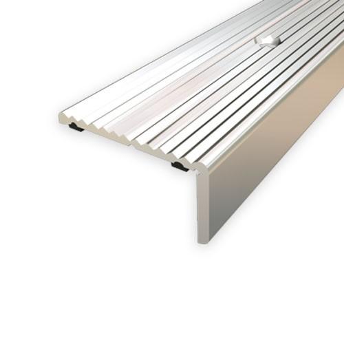 Treppenkantenprofil Fliesen: Treppenstufenprofil Aspro, 40x20mm, Silber 01, 2,7m