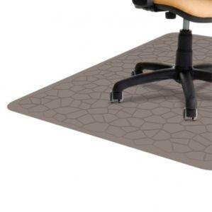Bodenschutzmatte für Hartböden, Parkett, Laminat, PVC, Kaffee, 120x90cm, Stärke 1,5mm – Bild 1