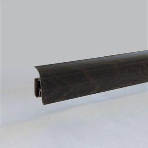 Sockelleiste Prexa 54, PVC, Eiche antrazit K9, 2,5m – Bild 2