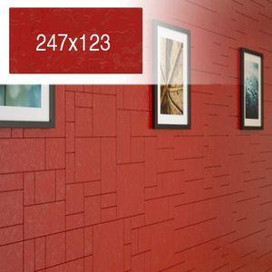 Fliese Rot  COMPONER Wandfliese strukturiert 247x123mm – Bild 1