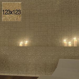 Fliese Gold COMPONER Wandfliese 123x123mm – Bild 1