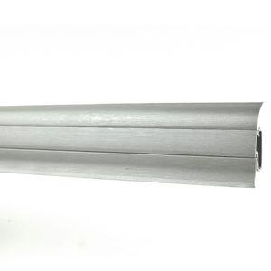 Sockelleiste Prexa 54mm PVC, ALU-Imitation 2,5m – Bild 2