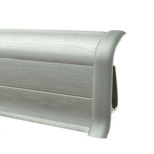 Verbindungsstück Prexa 54, PVC, Metallic 61, 2 Stück
