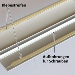 Übergangsprofil selbstklebend Silber Aluminium 30mm 0,9-2,7m – Bild 4