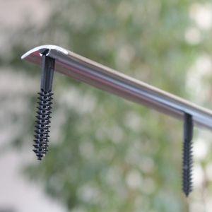 Übergangsprofil selbstklebend Ahorn 1P Aluminium 30mm 1,8 Meter – Bild 3