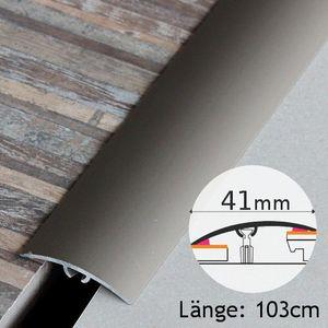 Höhenausgleichsprofil selbstklebend Champagner Aluminium 41mm 1,03 Meter – Bild 1