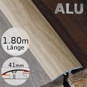 Höhenausgleichsprofil selbstklebend Ahorn 1P Aluminium 41mm 1,8 Meter – Bild 1
