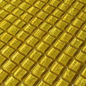 Gelb Glasmosaik 300x300x8 Nr 89 – Bild 1