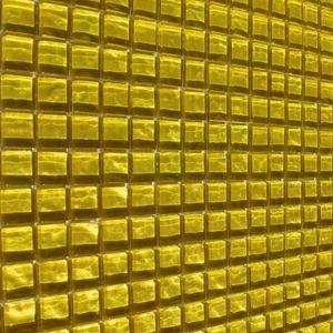 Gelb Glasmosaik 300x300x8 Nr 89 – Bild 6