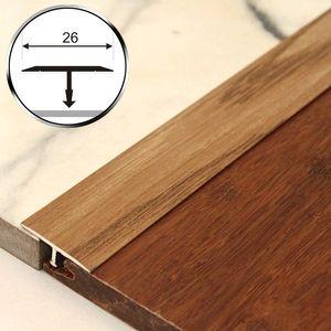 T-Profil Holzähnlich 125cm Aspro 26mm Alu Eiche 15 – Bild 1
