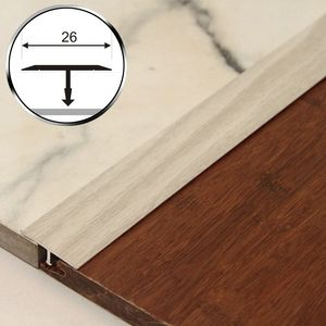 T-Profil Holzähnlich 125cm Aspro 26mm Alu Eiche 6P – Bild 1