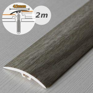 Übergangsprofil Holzoptik 42mm Myck PVC Eiche 2P 2m – Bild 1