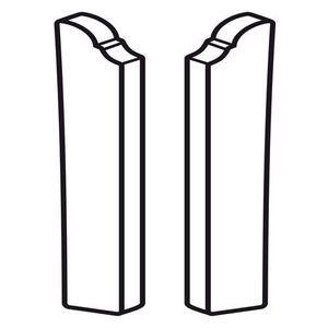 Abschluss L+R PST 80mm Silber 01 – Bild 2