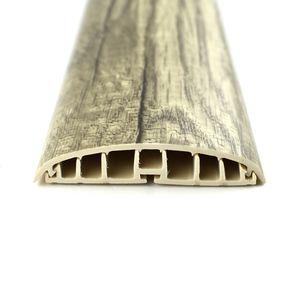 Leitungsführungskanal Kabelkanal selbstklebend, 74mm, PVC, Eiche K5, 2m – Bild 1