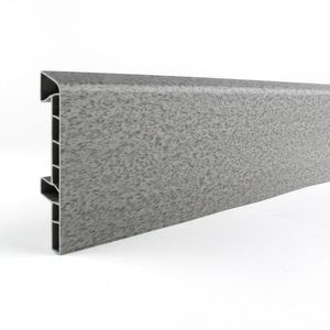 Sockelleiste ASPRO Q Grau J4, 83mm - hohe Qualität – Bild 1