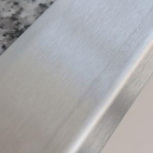 Edelstahl Winkelprofil ASPRO 3x3cm Treppenkantenprofil – Bild 6