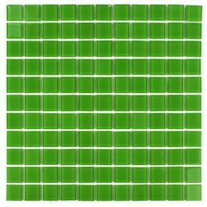 Grün Glasmosaik 300x300x4 Nr 16 Mosaikfliesen – Bild 2