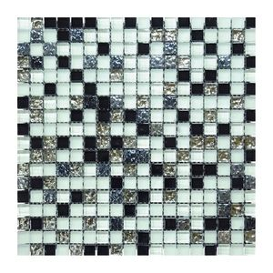 Glas- Natursteinmosaikc 300x300x8 Nr 3 – Bild 1