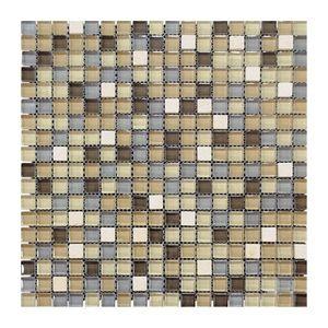 Glas- Natursteinmosaikc 300x300x8 Nr 4 – Bild 1