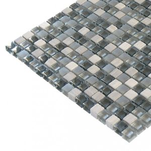 Glas- Natursteinmosaikc 300x300x8 Nr 9 – Bild 2