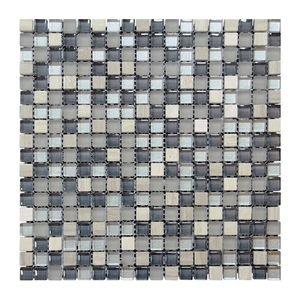 Glas- Natursteinmosaikc 300x300x8 Nr 9 – Bild 1