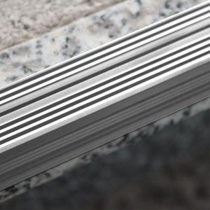 Treppenstufenprofil Aspro 30x30mm Silber ALU 90cm – Bild 3