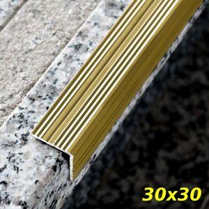 Treppenstufenprofil Aspro 30x30mm Gold ALU 135cm – Bild 1