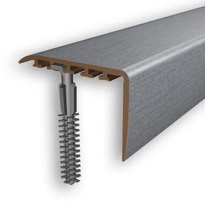 Treppenstufenprofil Myck 45x22mm Silber 2m – Bild 1