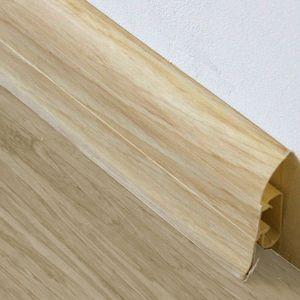 Sockelleiste Prexa 54, PVC, Ahorn G6, 2,5m – Bild 1