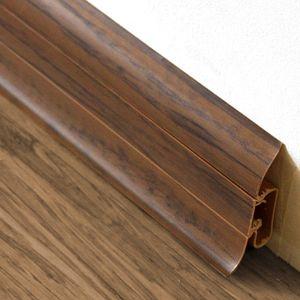 Sockelleiste Prexa 54, PVC, Nuss H5, 2,5m – Bild 1