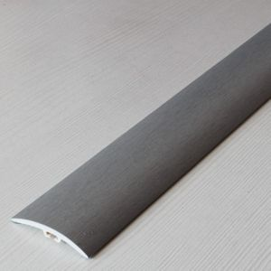 Übergangsprofil Holzoptik 42mm Myck PVC Silber 01, 1m – Bild 7