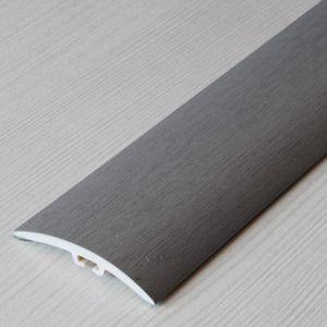 Übergangsprofil Holzoptik 42mm Myck PVC Silber 01, 1m – Bild 8