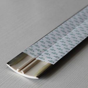 Übergangsprofil Holzoptik 42mm Myck PVC Wenge 0P, 2m – Bild 7