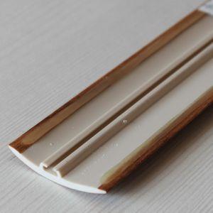 Übergangsprofil Holzoptik 42mm Myck PVC Kastanie 6E 1m – Bild 4