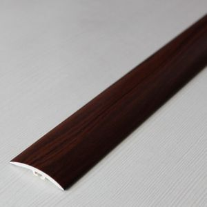 Übergangsprofil Holzoptik 42mm Myck PVC Mahagoni 7E 1m – Bild 3