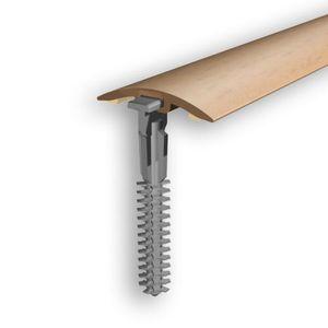 Höhenausgleichsprofil Myck, 30mm, PVC, Buche 0E, 2m – Bild 1