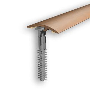 Höhenausgleichsprofil Myck, 30mm, PVC, Erle 4E, 1m – Bild 1