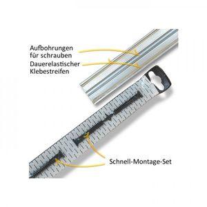 Übergangsprofil Aspro, 42mm, Edelstahl, Edelstahlgrau 20, 1m – Bild 2
